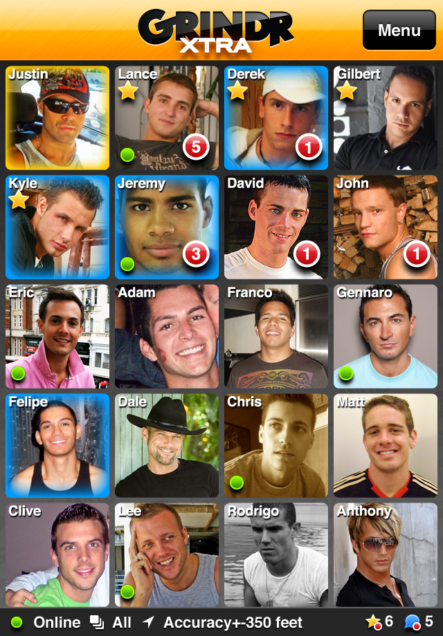 Grindr Xtra iPhone